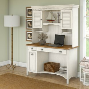 Look for Carroll Computer Desk with Hutch ByDarby Home Co