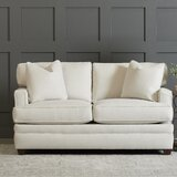 65 Square Arm Loveseat by Wayfair Custom Upholstery™
