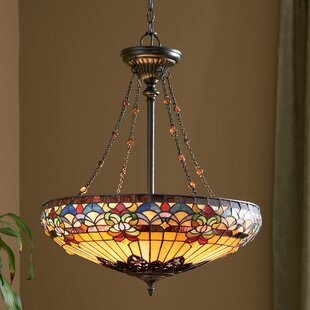 Diminic 4 Light Bowl Pendant
