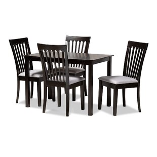 Bottom 5 Piece Dining Set by Canora Grey