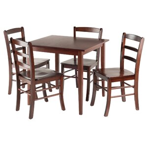 Avawatz 5 Piece Dining Set by Loon Peak