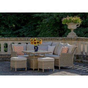 Rysing 7 Seater Rattan Corner Sofa Set Image