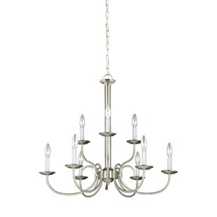 Darby Home Co Buren 9-Light Chandelier