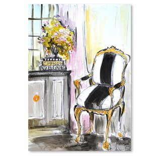 La Chaise Print Of Painting