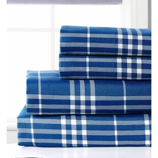Giancarlo Plaid Sheet Set