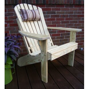 Sonia Fanback Wood Adirondack Chair