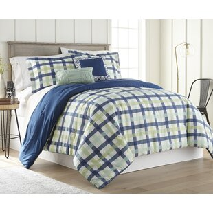 Kennett 5 Piece Reversible Comforter Set
