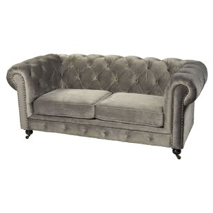 Peckforton Chesterfield Loveseat by Mercer41 Best Design