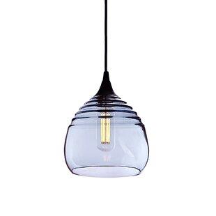 Latitude Run Segers 1-Light Cone Pendant