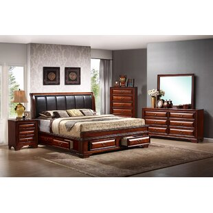 InRoom Designs 6 Drawer Double Dresser