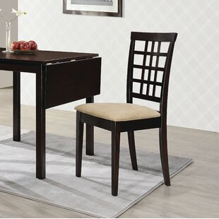 Pecoraro Upholstered Dining Chair (Set of 2)
