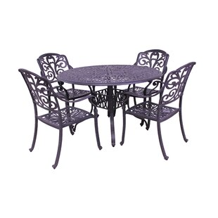 Fleur De Lis Living Thurston 5 Piece Dining Set