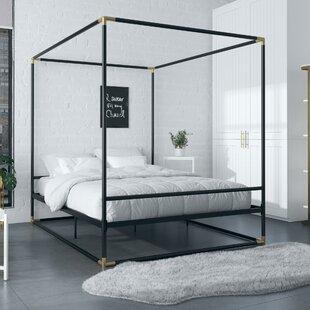 Celeste Metal Canopy Bed