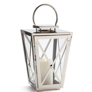 Stainless Steel Lantern By Breakwater Bay Outdoor Lighting