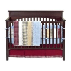 Shop For Marnell Stripes and Plaids 4 Piece Crib Bedding Set ByHarriet Bee