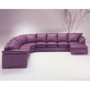 Tribeca Loft Leather Sectional by Omnia Leather