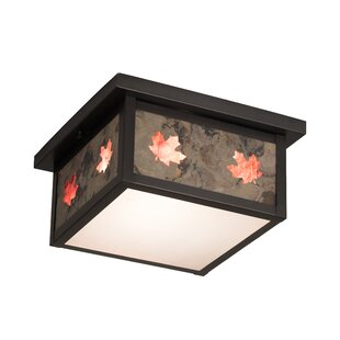 Loon Peak Yedinak 2-Light Flush Mount