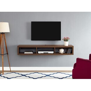 Shallow Wall Mounted TV Stand for TVs up to 69