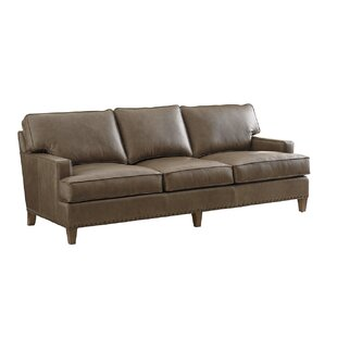 Cypress Point Leather Sofa by Tommy Bahama Home