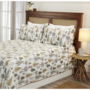 Millwood Pines Sinead Lodge Printed Ultra-Smooth Microfiber Sheet Set