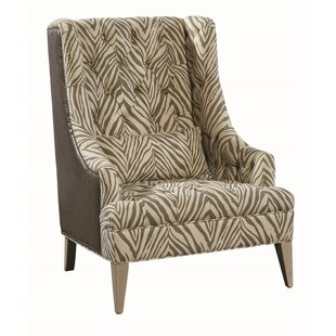 Serengeti Wingback Chair by Furniture Classics