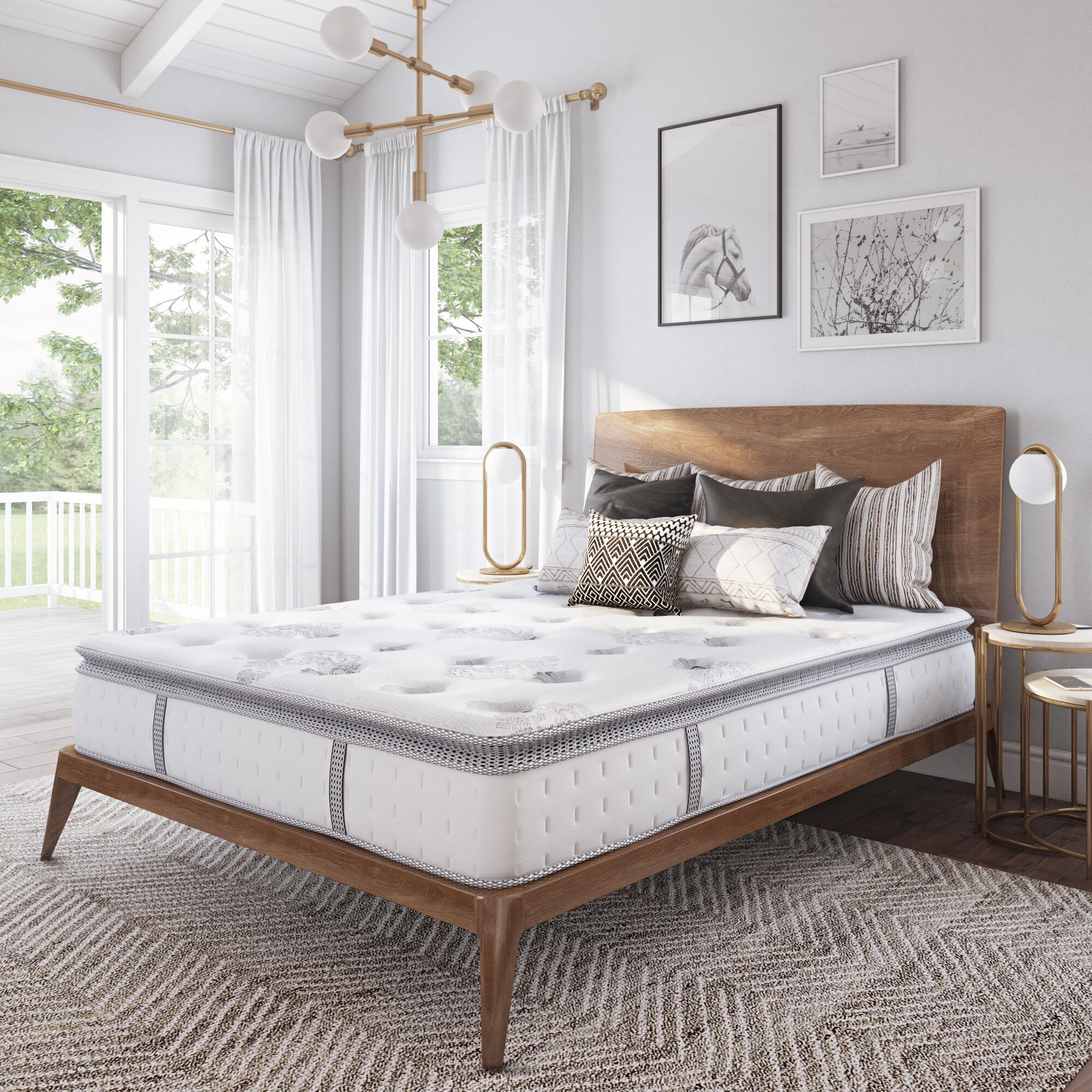Wayfair Sleep 12 Medium Pillow Top Hybrid Mattress Reviews Wayfair