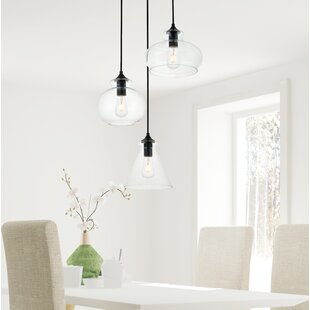 Cerys 3-Light Cluster Pendant by Three Posts