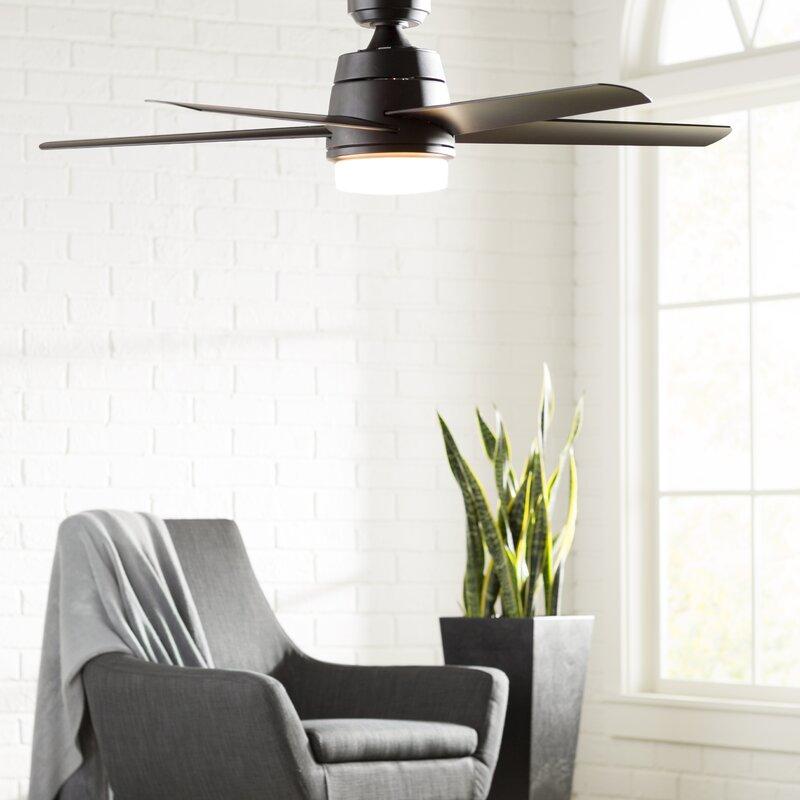 52 Orr 5 Blade Ceiling Fan With Light Kit