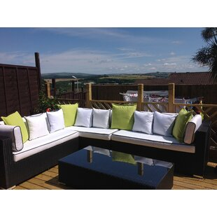 Tessa 6 Seater Rattan Corner Sofa Set With Cushions By Sol 72 Outdoor