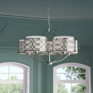 Bela 5-Light Drum Chandeli..