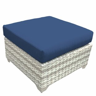 Rosecliff Heights Ansonia Ottoman with Cu..