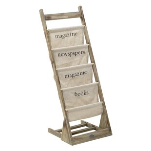 Belvedere 4 Pocket Free Standing Magazine Rack By August Grove
