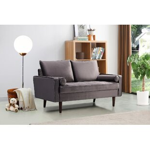 Chincoteague 63 Square Arm Loveseat by George Oliver