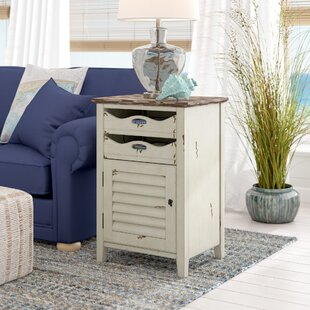 Riviera End Table by Beachcrest Home