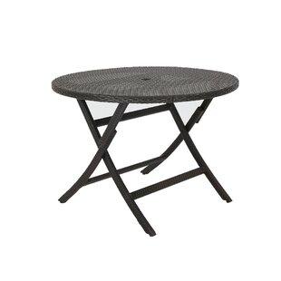 Winston Porter Karn Extendable Wicker Bistro Table
