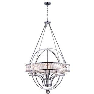 CWI Lighting Arkansas 12-Light Globe Chan..
