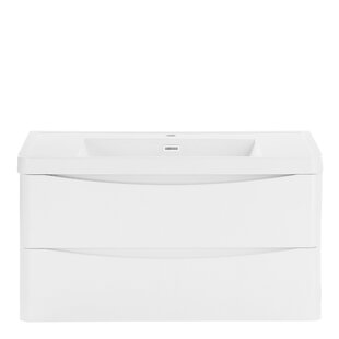 Palethorp 900mm Wall Mount Vanity Unit By 17 Stories