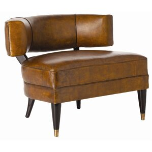Laurent Glazed Top Barrel Chair by ARTERIORS Home