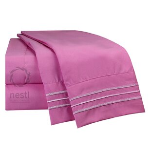 Rosy Finch Microfiber Sheet Set