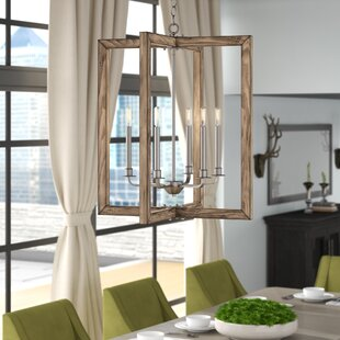 Daugherty 6-Light Square/Rectangle Chandelier