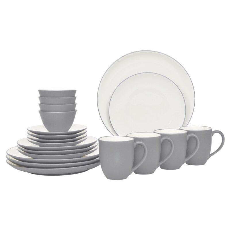 Colorwave 20 Piece Dinnerware Set, Service for 4