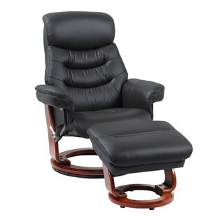 Best Reviews Naranjo Leather Manual Swivel Recliner with Ottoman by Latitude Run Reviews (2019) & Buyer's Guide