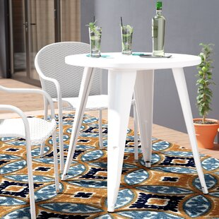 Pelzer Steel Bistro Table by Latitude Run Today Only Sale