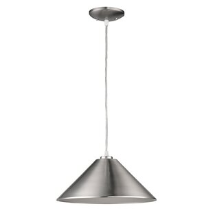 Wrought Studio Chatman 1-Light Cone Pendant