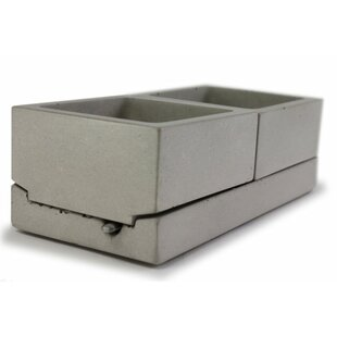 Concrete Spice Flatware Caddy