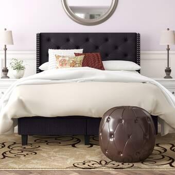 Red Barrel Studio Reposa Queen Upholstered Sleigh Bed Wayfair