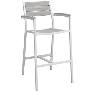 Maine Outdoor Patio Barstool by Modway