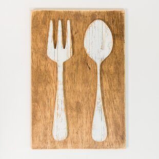 Fork And Spoon Farmhouse Wall Décor