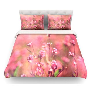 Its a Sweet Sweet Life by Robin Dickinson Flowers Featherweight Duvet Cover