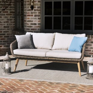 Langley Street Bacchus Loveseat with Cushions